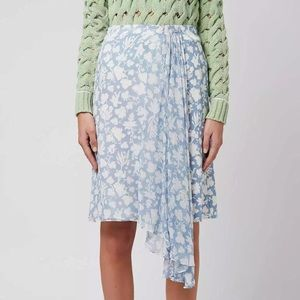 Topshop Unique & Wedgwood pattern skirt